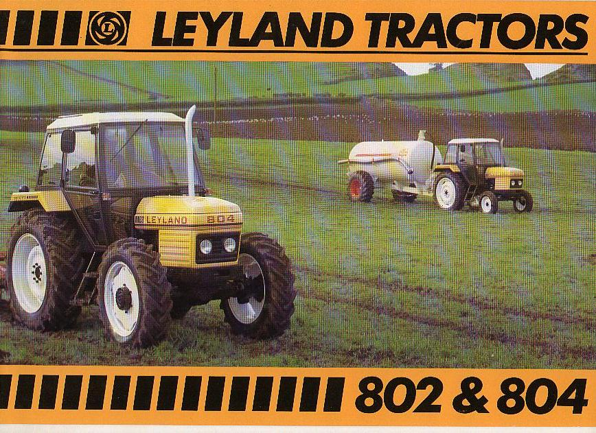 Leyland 802 & 804 Tractor Brochure