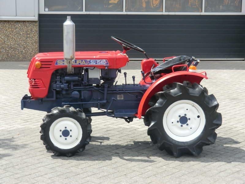 Shibaura SU1540 4x4 wheel tractor from Netherlands for sale at Truck1 ...