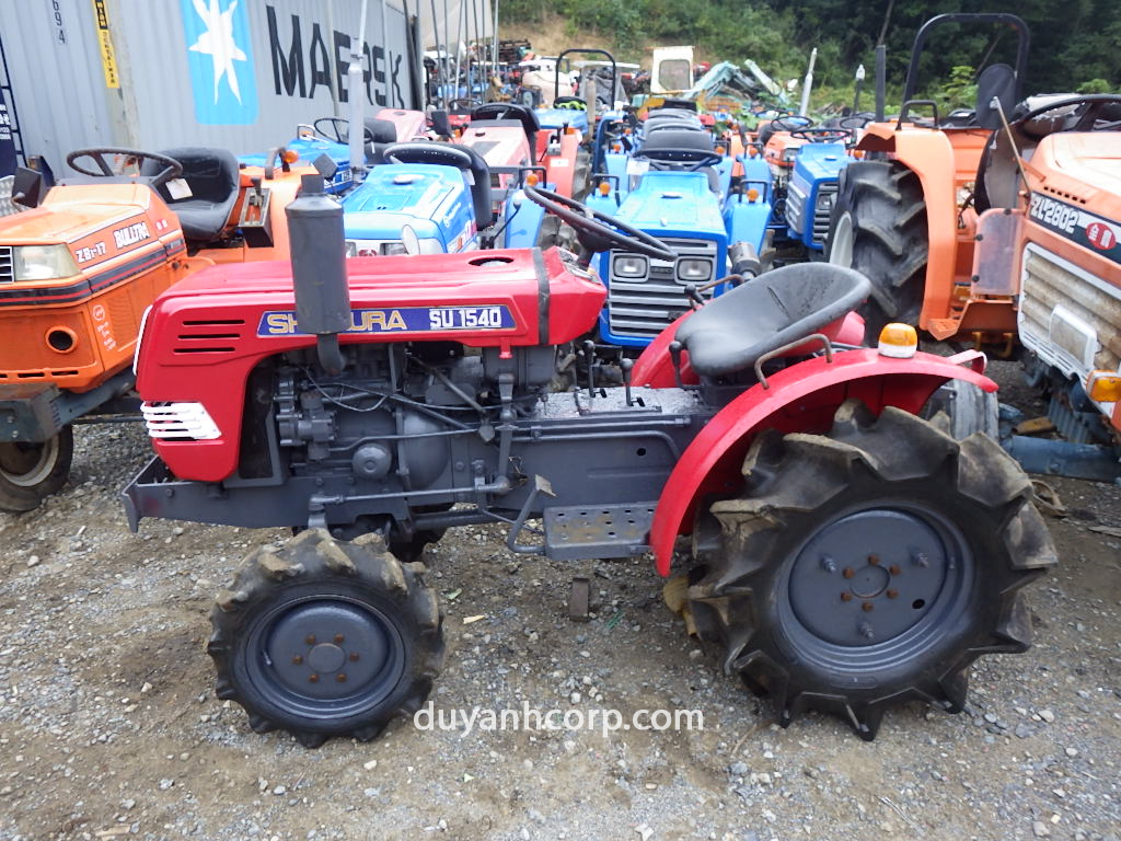 Item No. 2083 SHIBAURA SU1540(4WD) S/N.10700 - Duy Anh Corp