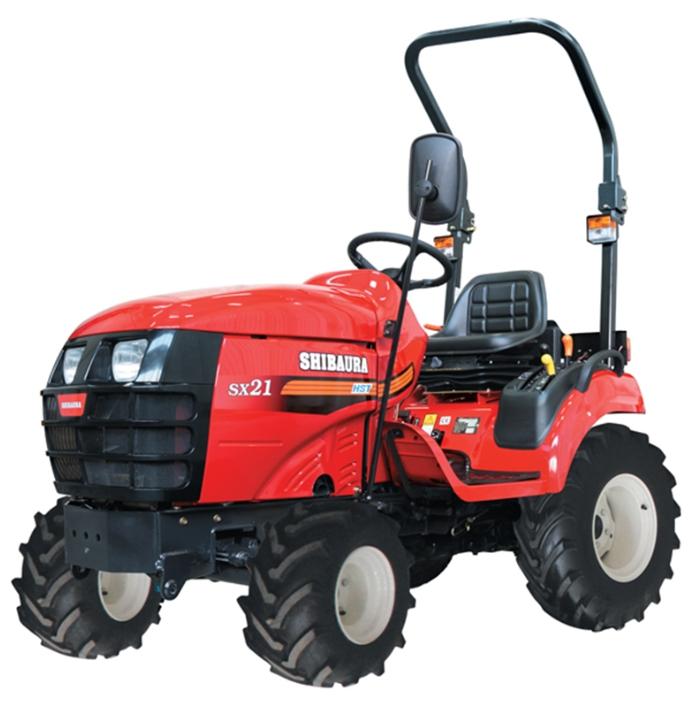 Купить мини-трактор Shibaura SX21 HST ...