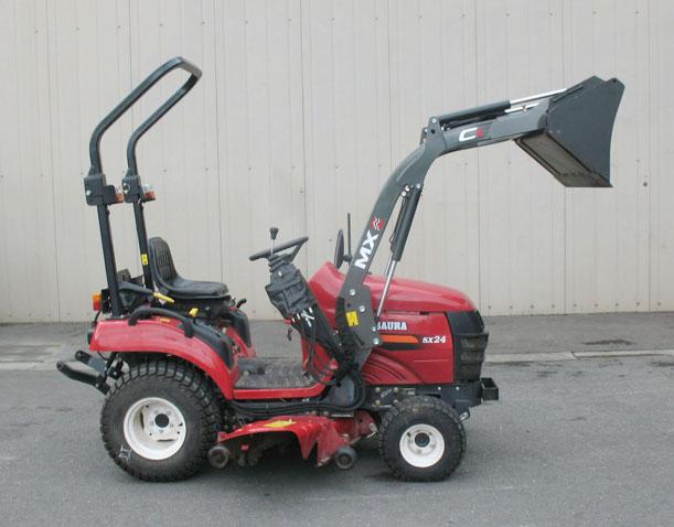 Tracteur Shibaura SX24 HST / Chargeur MX COMPACT C1