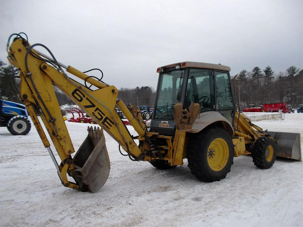 New Holland 675E For Sale (3278156) :: Construction Equipment Guide