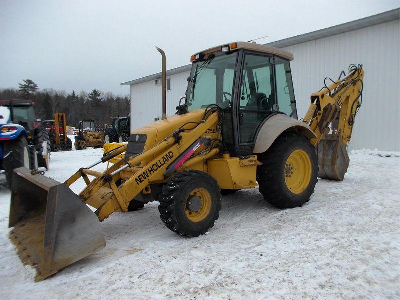 New Holland 675E Tractor/Loader/Backhoe for Sale | Fastline