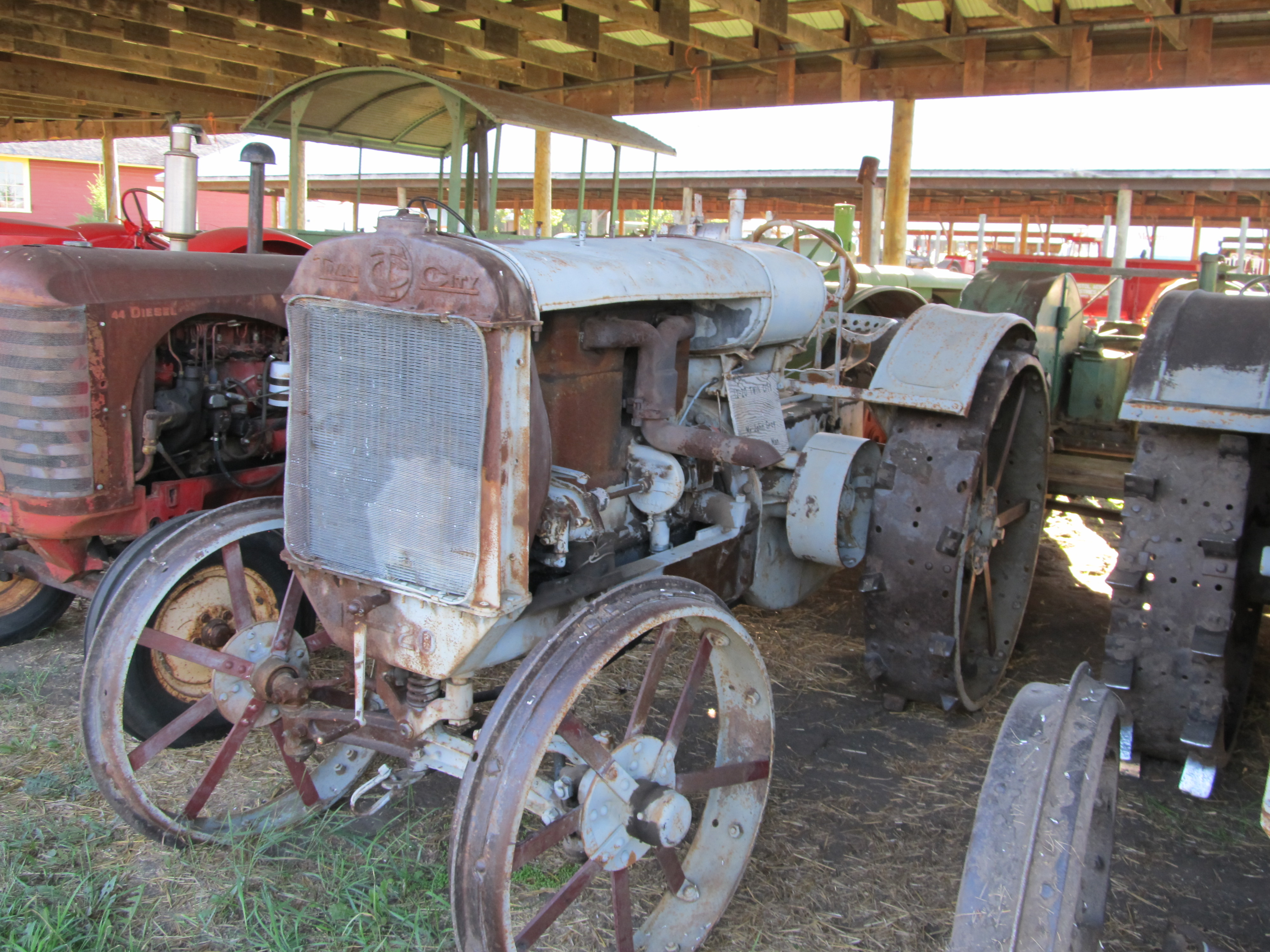 Twin City 12-20 (1920) - Manitoba Agricultural Museum