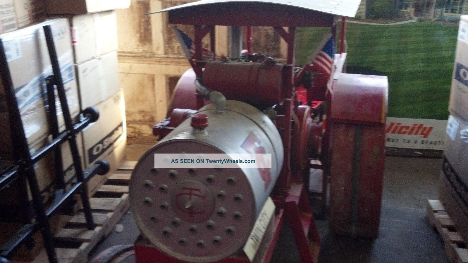 Twin City 40 - 65 Replica Tractor Antique & Vintage Farm Equip photo