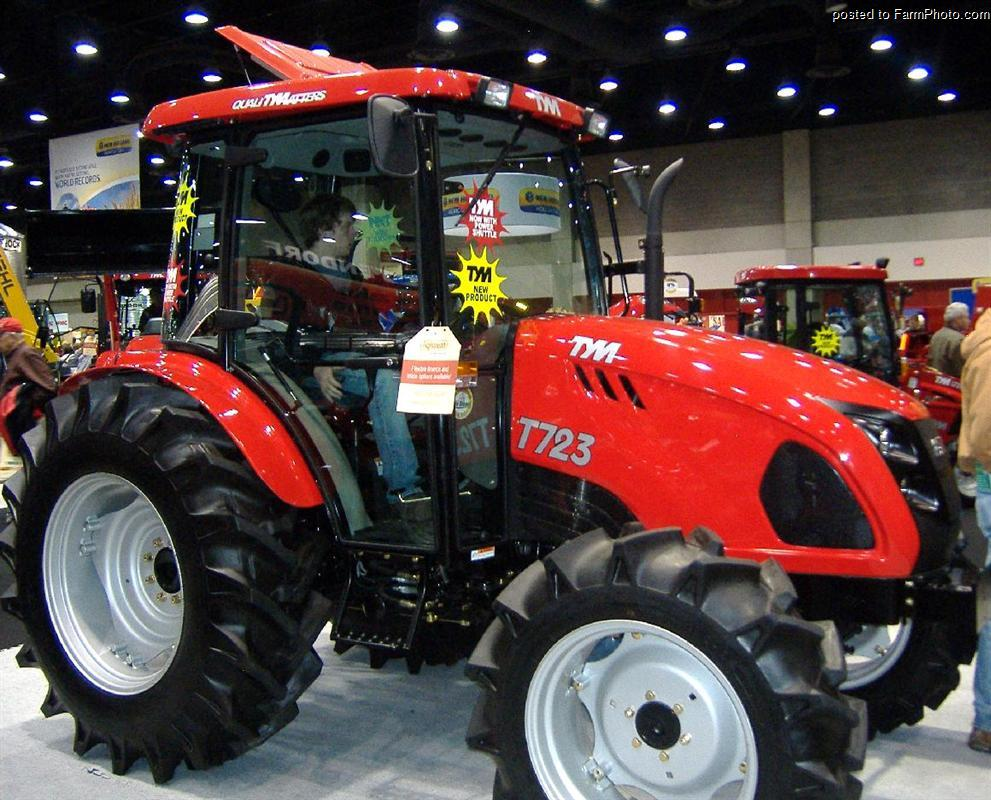 TYM T723 - Tractor & Construction Plant Wiki - The classic vehicle and ...