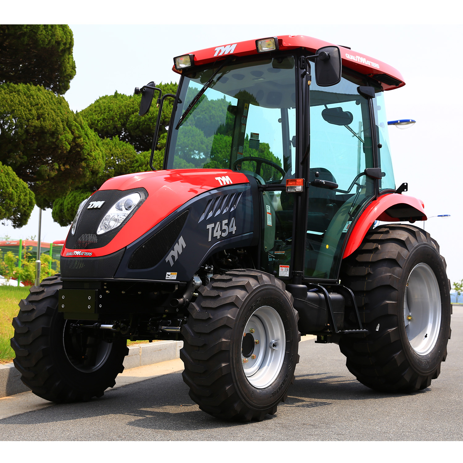 Home TYM Tractors T454 Cab