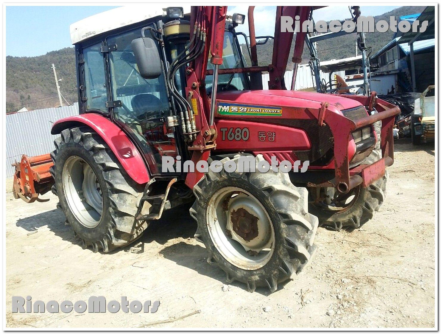 РинакоМоторс! Корейский трактор TYM T680