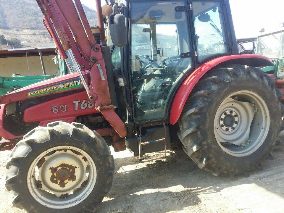 TYM T680 tractor de ruedas
