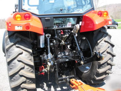 New tym T903 tractor with loader, full cab - 91HP cat