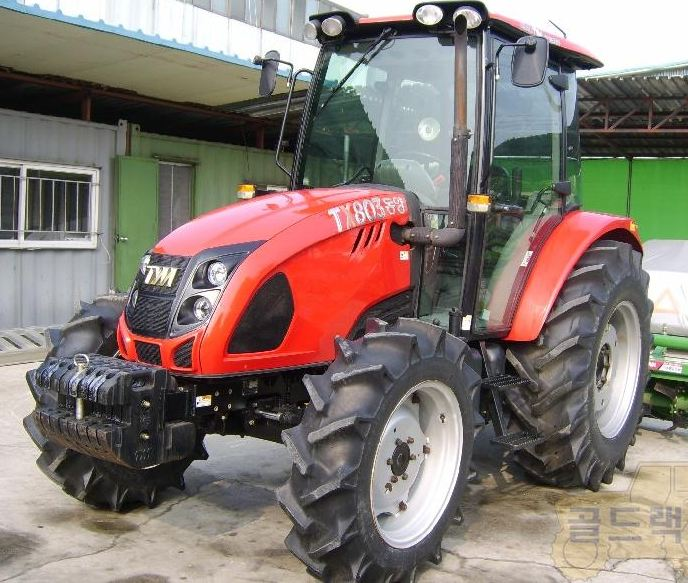 TYM TX803 - Tractor & Construction Plant Wiki - The classic vehicle ...