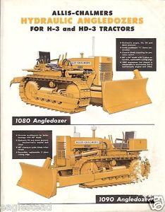 Equipment Brochure Allis Chalmers Angledozers for H 3 HD 3 1961 EB201 ...