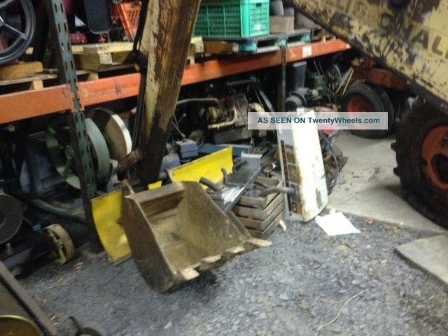 Vintage Allis Chalmers Hd3 W/ Ac 1066 Loader & Backhoe Runs Drives ...