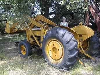 Original Ad: Massey Ferguson industrial with front end loader, tires ...