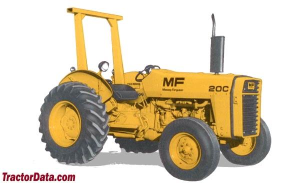 TractorData.com Massey Ferguson 20C industrial tractor photos ...
