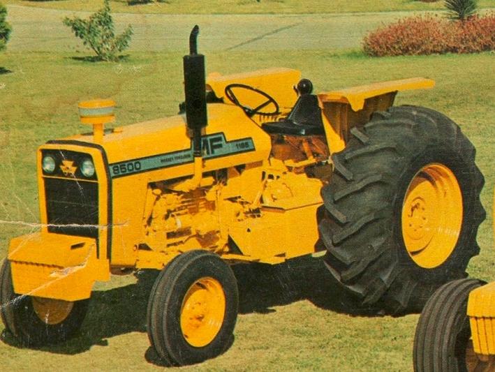 Massey Ferguson 8500 Industrial   Tractor & Construction Plant Wiki ...