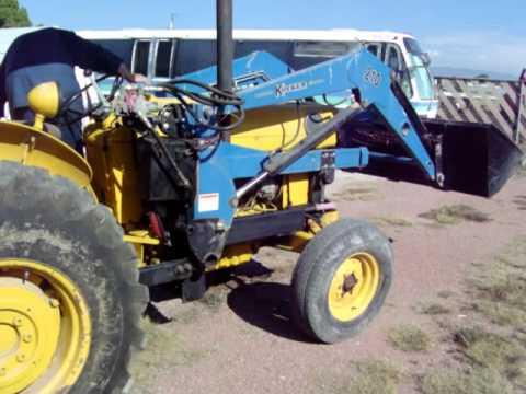 Massey Ferguson Industrial Tractor - YouTube