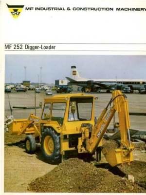 Massey Ferguson 252 Digger Loader Brochure - MF 3303