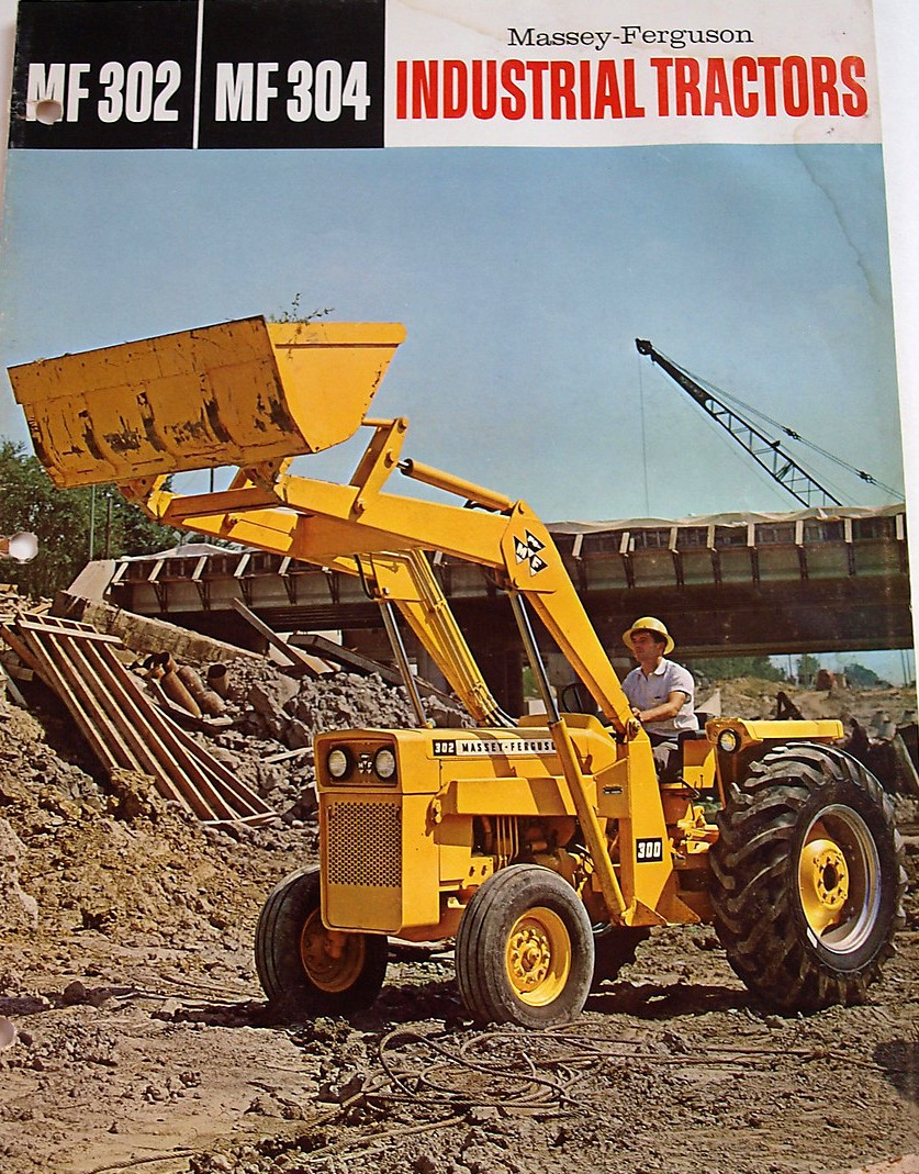 Massey Ferguson 302 Industrial   Tractor & Construction Plant Wiki ...