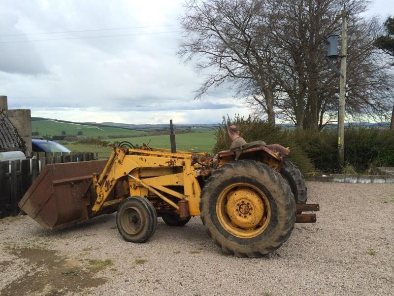 MF 40 industrial tractor and loader (Aberdeenshire)   Vans, Trucks ...