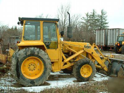 Massey ferguson 50EX industrial tractor loader