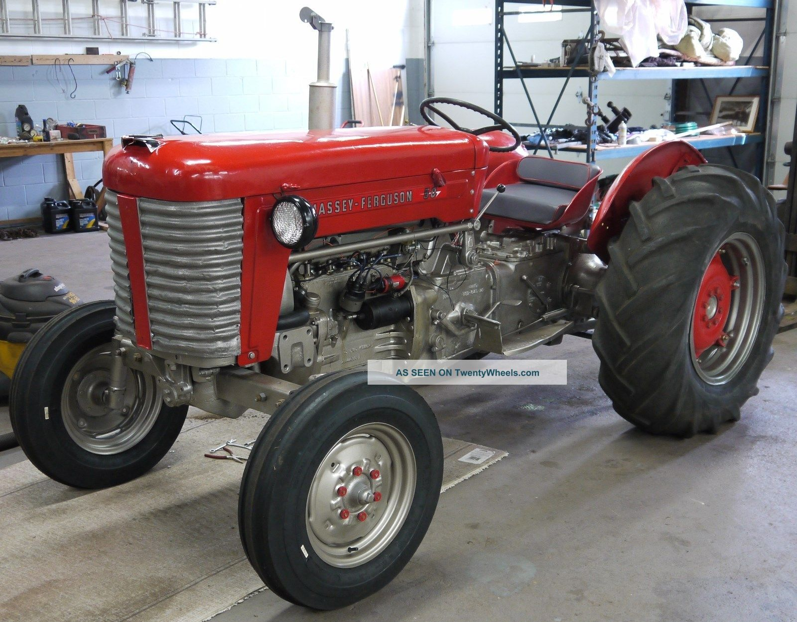 1956 Tractor - Massey Ferguson 50 Tractors photo