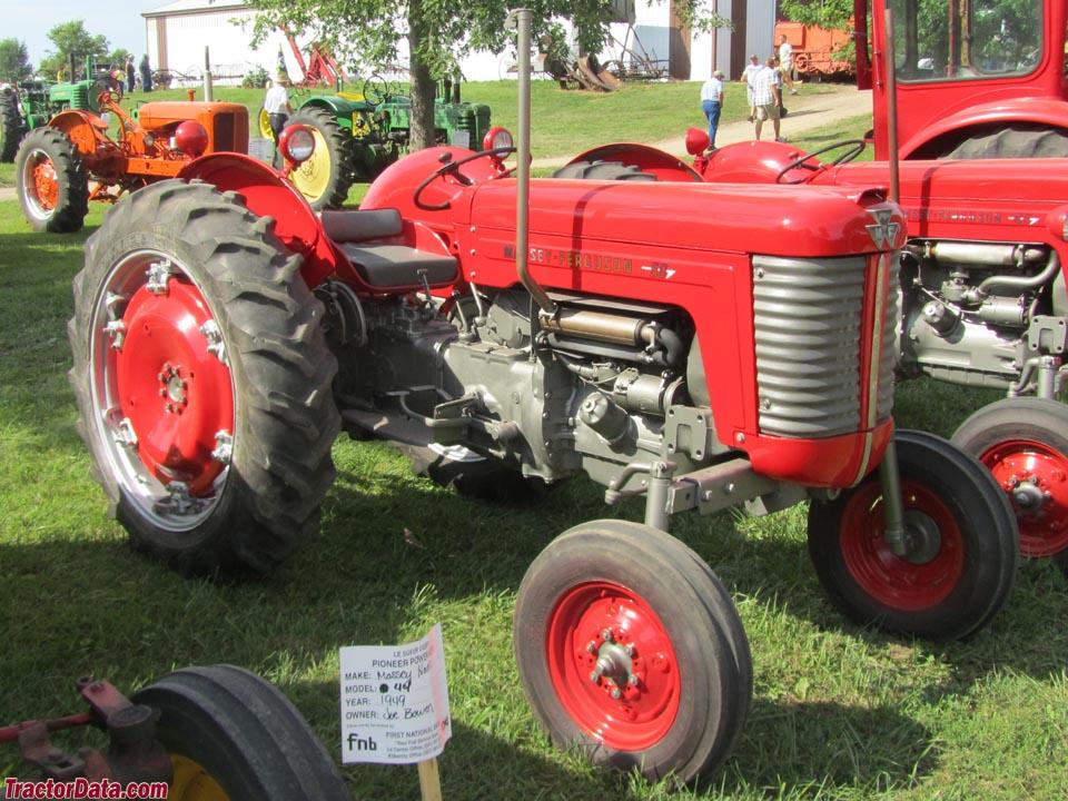 TractorData.com Massey Ferguson 50 tractor photos information