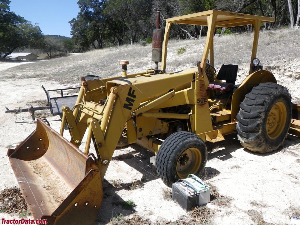 TractorData.com Massey Ferguson 50E industrial tractor photos ...