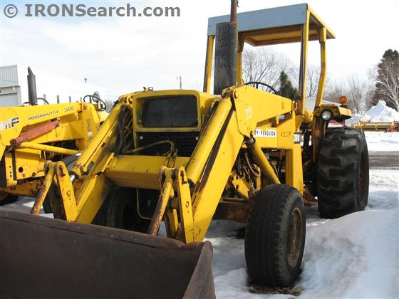 1973 Massey Ferguson 50A Tractor | IRON Search