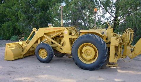Massey Ferguson 50A Front End Loader & Backhoe | Machinery