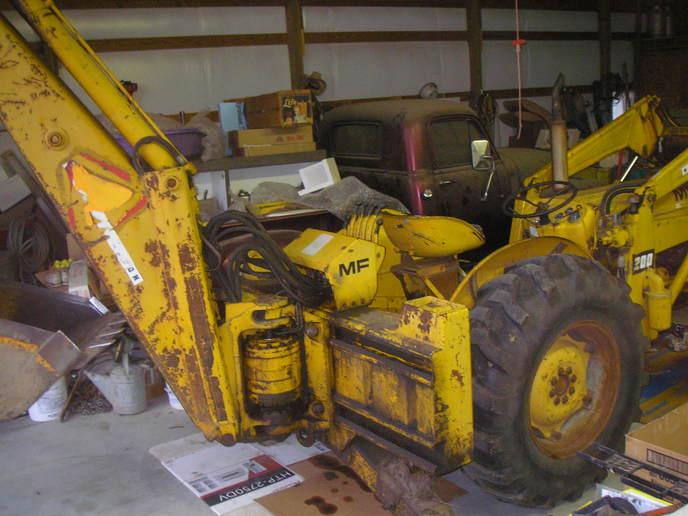 MF industrial fan belt update/pics - Yesterday's Tractors