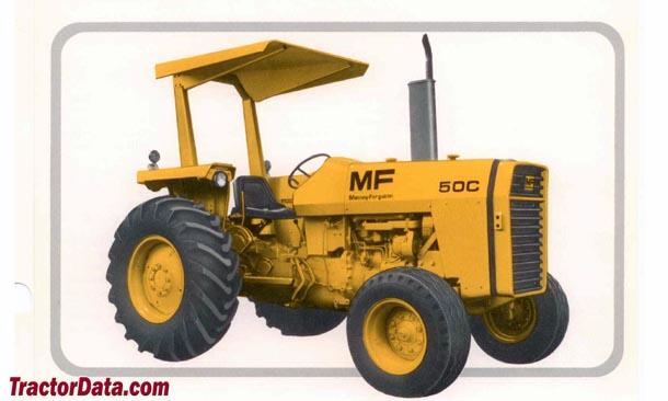 TractorData.com Massey Ferguson 50C industrial tractor photos ...