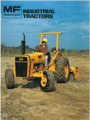 Massey Ferguson Industrial Tractor 20C 40B 50C Brochure