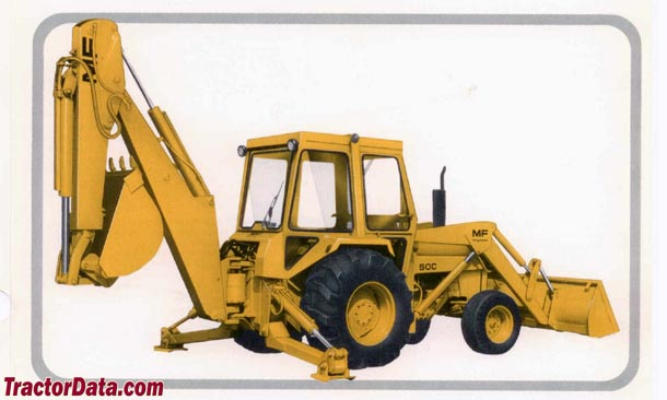 TractorData.com Massey Ferguson 50C backhoe-loader tractor photos ...