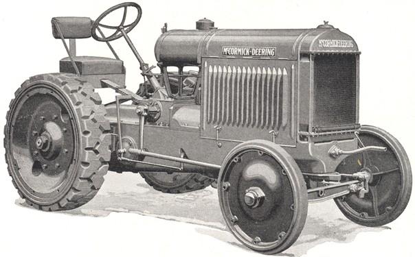 McCormick-Deering 20 Industrial - Tractor & Construction Plant Wiki ...