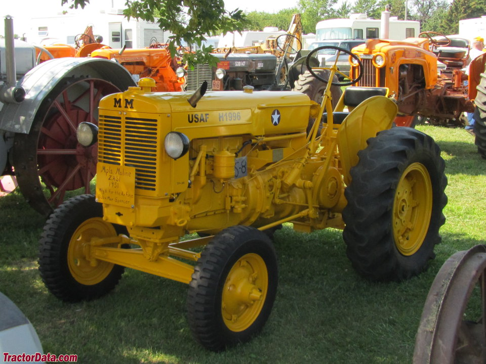 TractorData.com Minneapolis-Moline ZASI industrial tractor photos ...