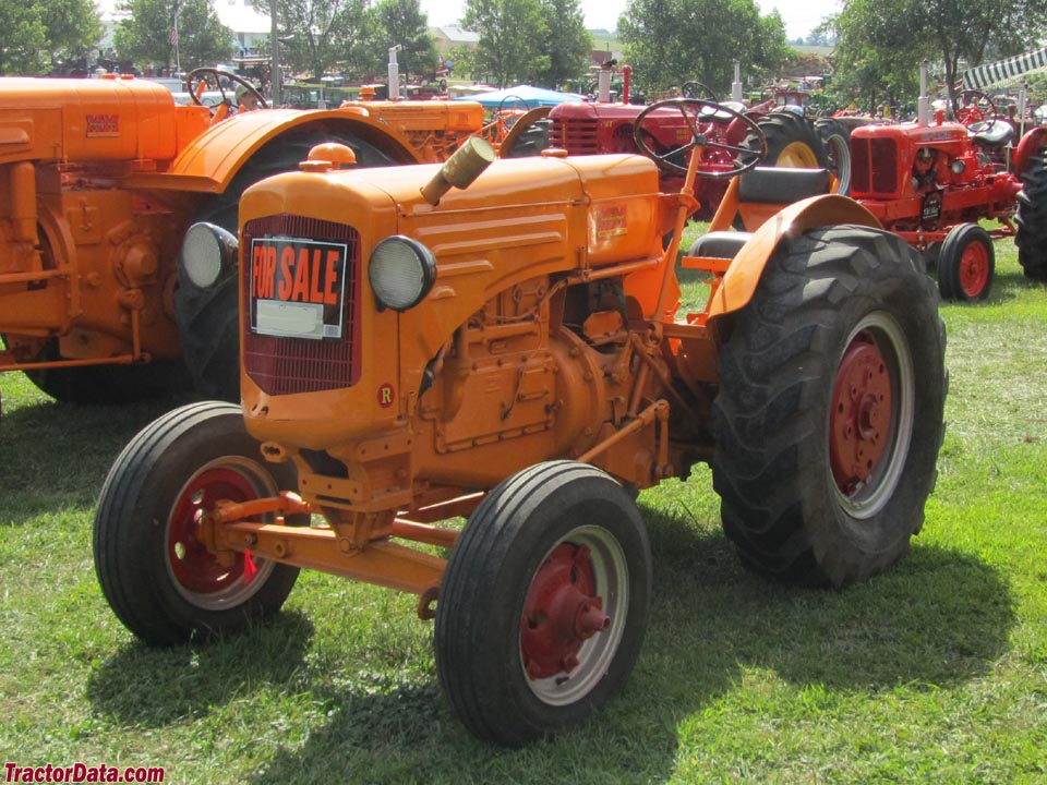 TractorData.com Minneapolis-Moline RTI tractor photos information