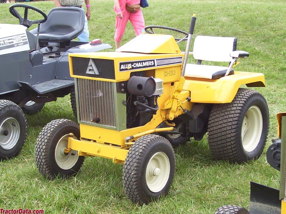 TractorData.com Allis Chalmers B-110 tractor photos information