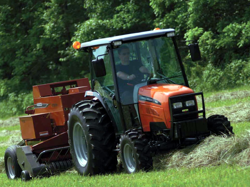 AGCO ST60A compact utility tractor.