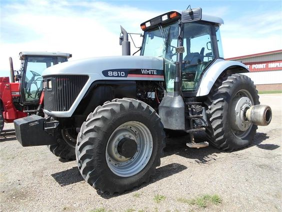 Agco white 8610 - Google Search | Tractors made in France | Pinterest ...