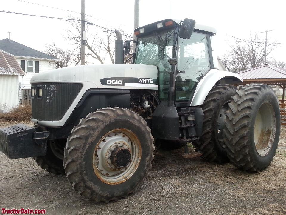 TractorData.com AGCO White 8610 tractor photos information