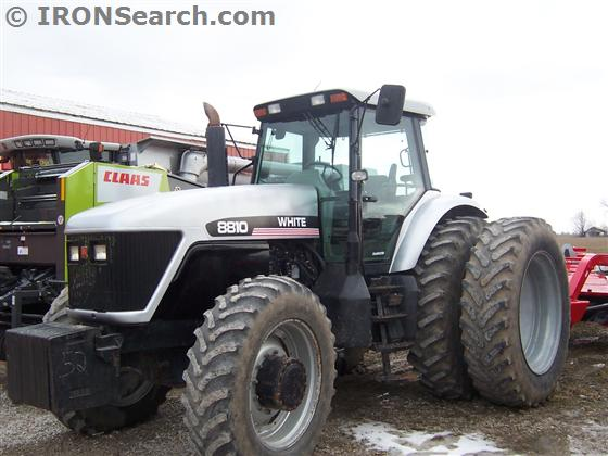 1998 AGCO White 8810 Tractor | IRON Search