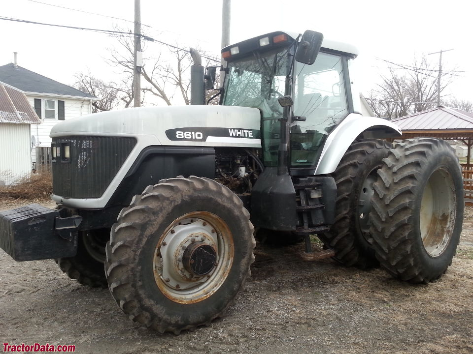 AGCO White 8610 Photo courtesy of Wells Implement