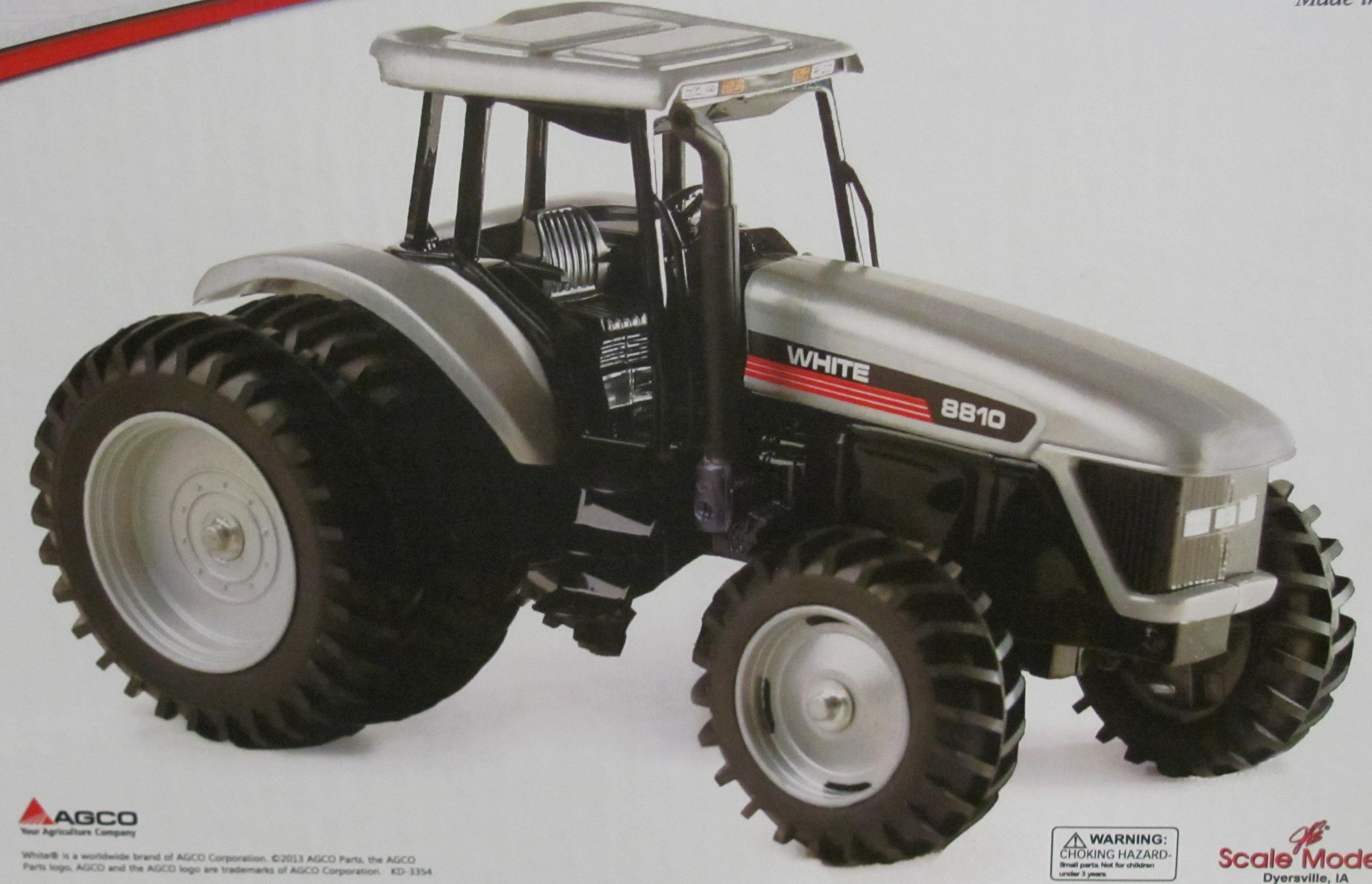 Agco White 8810 | Down On The Farm