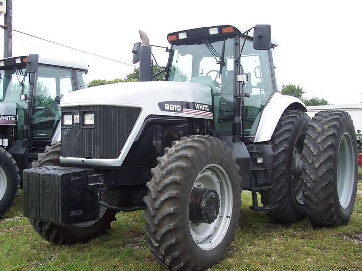 Agco white 8810 - Google Search | Tractors made in France | Pinterest ...