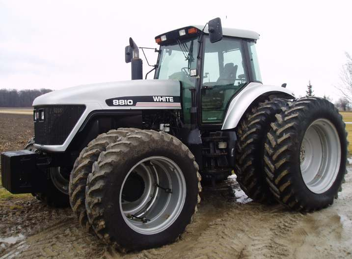 Image - White 8810 MFWD - 1998.jpg | Tractor & Construction Plant Wiki ...