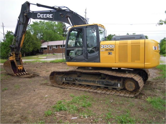 2008 JOHN DEERE 200D LC Excavator for sale - Tim McDowell Equipment ...