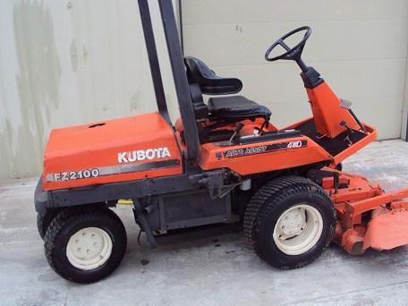 Kubota Fz2100 Fz2400 Workshop Service Repair Manual - Crawler