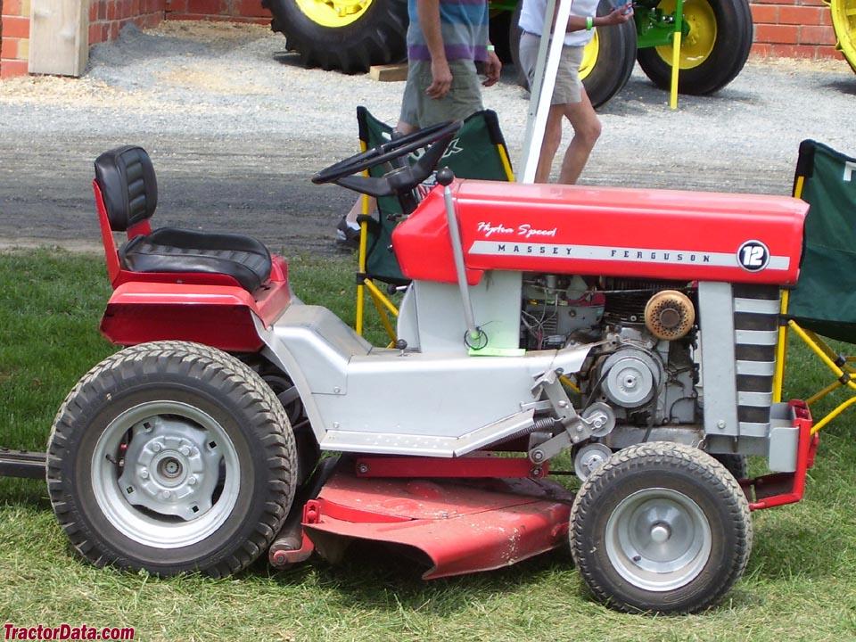 TractorData.com Massey Ferguson 12 tractor photos information