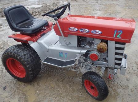 Massey Ferguson MF-12 Hydra 12 Tractor Parking Brake | eBay